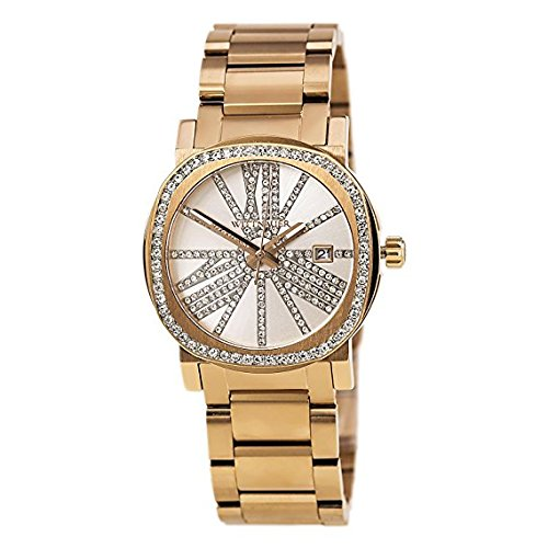 BULOVA Wittnauer Rose Gold Tone Crystal Bezel and Dial Wa...