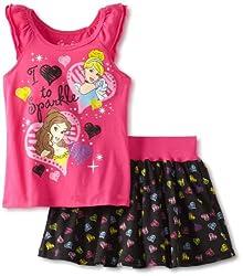 Nautica Little Girls' Sleeveless Pleat Dress, Navy, Large