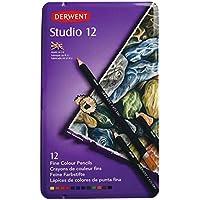 Derwent Studio Pencils Tin 12