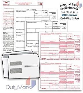 Amazon com : Office Depot Brand 1099-MISC Inkjet/Laser Tax