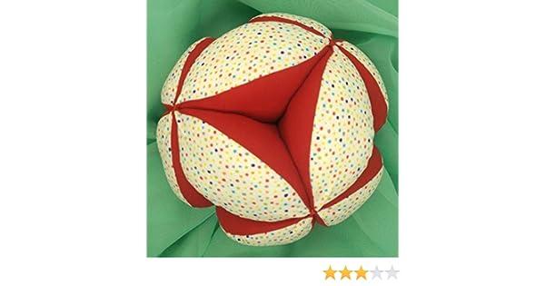 Pelota Montessori - Confeti Multicolor/Rojo: Amazon.es: Handmade