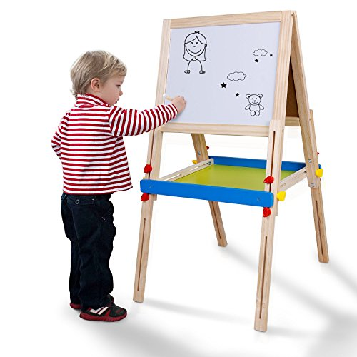 magnet drawing board with stamps - 4