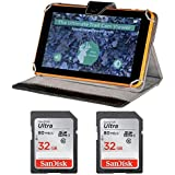 LOWDOWN Easy Trail Camera Image and Video Viewer with 9 HD Color Touch Screen and Two 32GB SD Cards