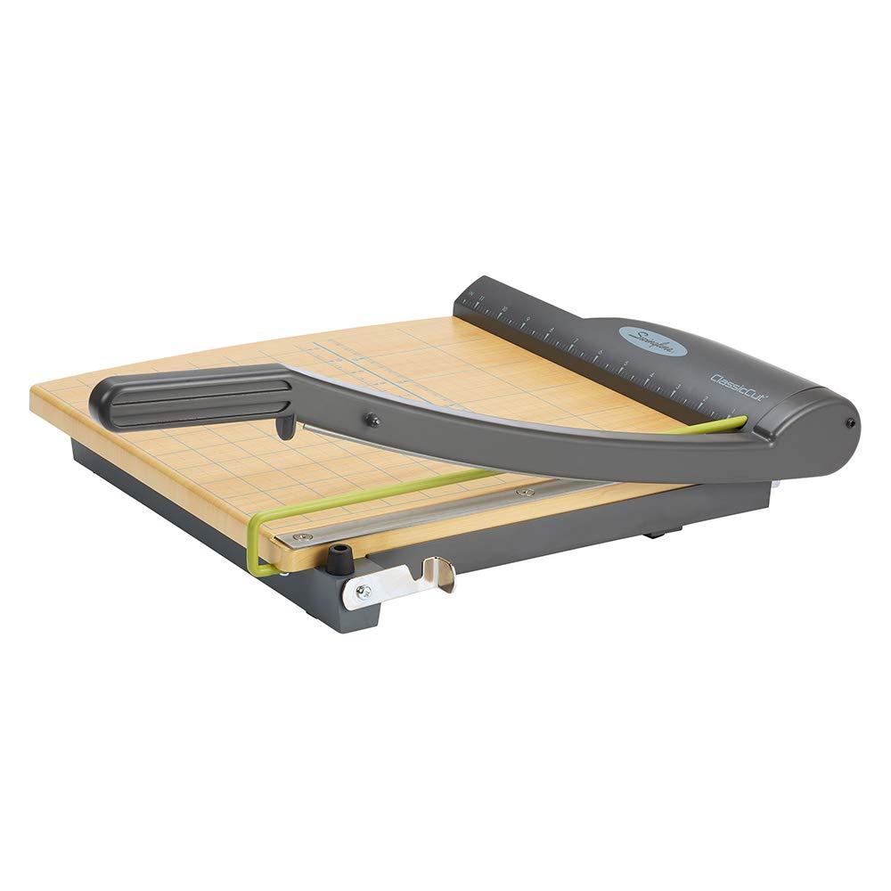 "B00006IATF Swingline Paper Trimmer, Guillotine Paper Cutter, 12"" Cut Length, 15 Sheet Capacity, ClassicCut Pro (9112) 515k8PHfKLL"