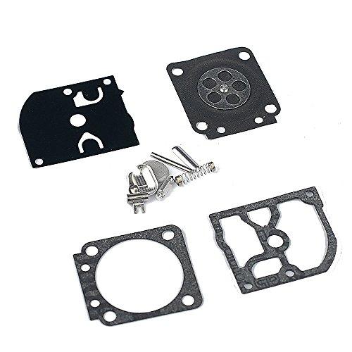 Savior RB-66 Carburetor Rebuild Kit for STIHL 017 018 MS170 MS180 BG75 FC55 FC75 FC85 FS46 FS55 FS75 FS80 FS85 FS4137 HL45 HL75 HS75 HS80 HS85 HT70 HT75 ZAMA Chiansaw