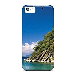 LJF phone case Mialisabblake Case Cover Protector Specially Made For ipod touch 4 America Guadeloupe