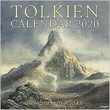 Tolkien Calendar 2020 Tolkien J R R 9780062959768 Amazon Com Books