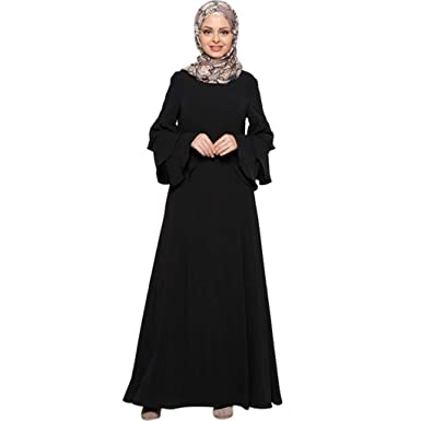 6f636f61f3 Muslim Women's Prayer Dress Pocket-Size Hijab Scarf Skirt Islamic Abaya  MITIY, M-