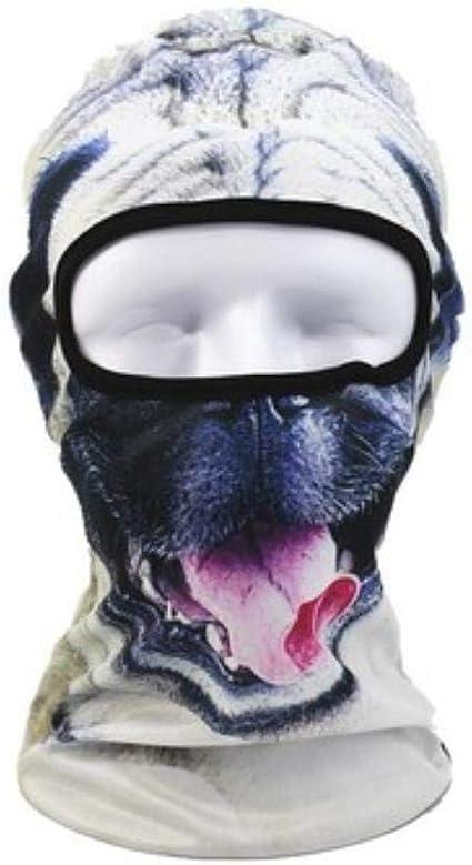SHMAYU Verano equitación cara completa máscara de protección solar ...