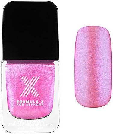 Amazon Com Nail Polish Transformers Top Coats Formula X For Sephora 0 4 Oz Chroma Zone Hot Pink Iridescence Health Personal Care