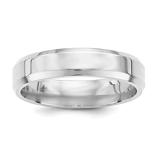 Jewelry Stores Network 5mm Double Milgrain Sterling Silver Wedding Band Comfort Fit Ring