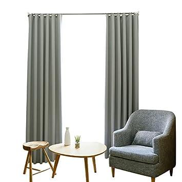 CAI-YA Einfache Moderne Wohnzimmer, Super Weich Schlafzimmer Vorhang ...
