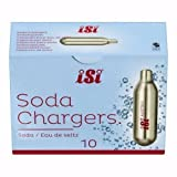 30 pack of soda - iSi 8 gram Soda Chargers- Case of 300 (30 packs of 10 CO2 chargers) by iSi