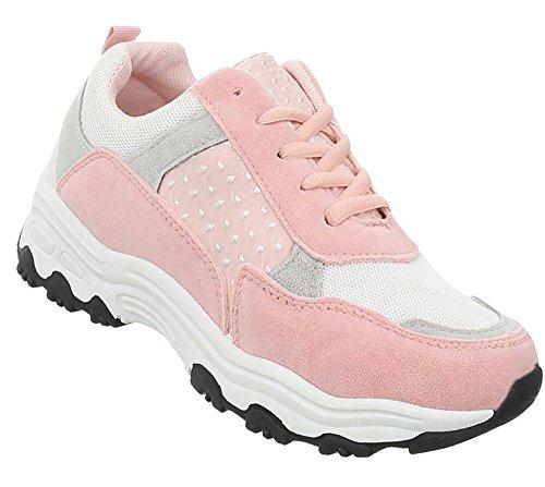Damen Schuhe Freizeitschuhe Sneakers Rosa
