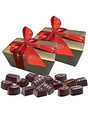 Leonidas Belgian Chocolates | All Dark Chocolates in a Beautiful Gift Ballotin Box. Imported fine Chocolate from Belgium