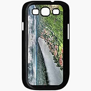 Unique Design Fashion Protective Back Cover For Samsung Galaxy S3 Case Buildings River Hills Sky Beach Trees Hdr Black