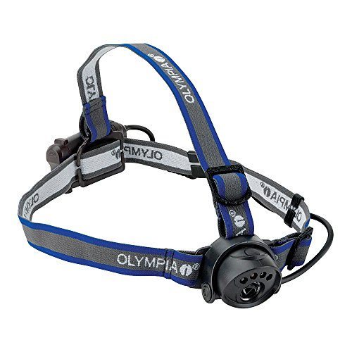 Olympia EX080 Lightweight Water Resistant LED Headlamp, 80 Lumens (Led Mwave Headlight 3)