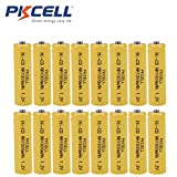 NICD AA 1000mAh Rechargeable Batteries for Solar/Garden Lights,16 Packs