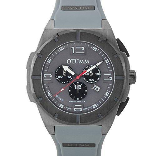 Otumm Speed II Gris Negro 012 53mm Unisex Speed Reloj: Amazon.es: Relojes