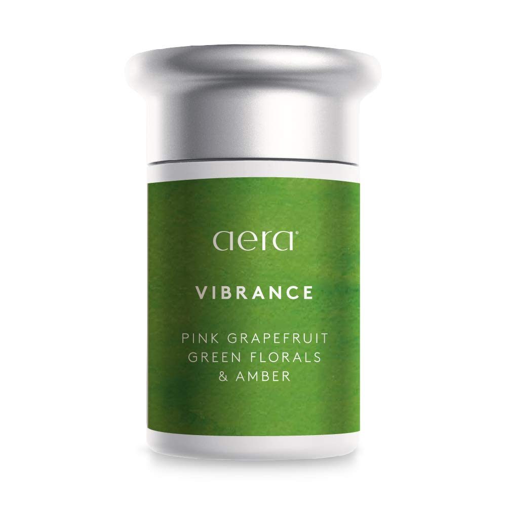 Vibrance Scented Home Fragrance, Hypoallergenic Formula w/Notes of Tropical Florals, Grapefruit, Amber- Schedule Using App With Aera Smart 2.0 Diffusers - State Of The Art Air Freshener Technology