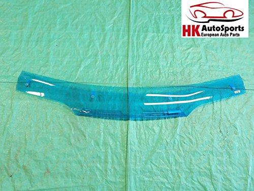Bug Shield Mini - GTS 70150B Hood Shield Bug Deflector Blue Fits Chevrolet Pontiac Lumina Mini Van
