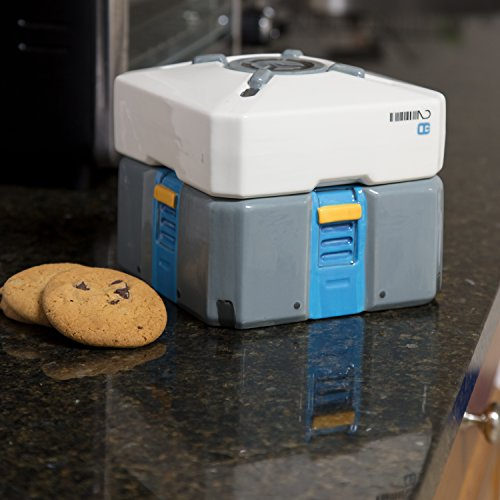 Overwatch caja de botín de cerámica tarro para galletas - ideal para guardar alimentos y aperitivo.: Amazon.es: Hogar