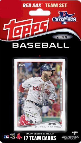 2014 Topps Boston Red Sox Factory Sealed Limited Edition 17 Card Team Set with Dustin Pedroia, David Ortiz ()