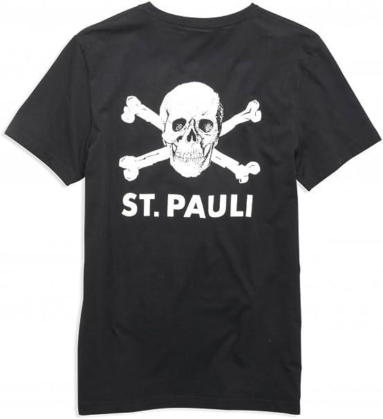 St. Pauli - Camiseta - para Hombre Negro L: Amazon.es: Ropa y ...