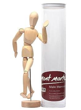 Mont Marte Mannequin Homme 30 Cm Modèle De Dessin Figurine Idéal
