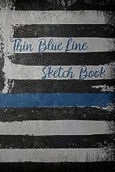 Thin Blue Line Sketch Book