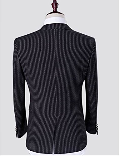 Love Dress Thin Men's Two-Piece Classic Fit Suit Jacket, Pants 5XL by Love To Dress (Image #2)