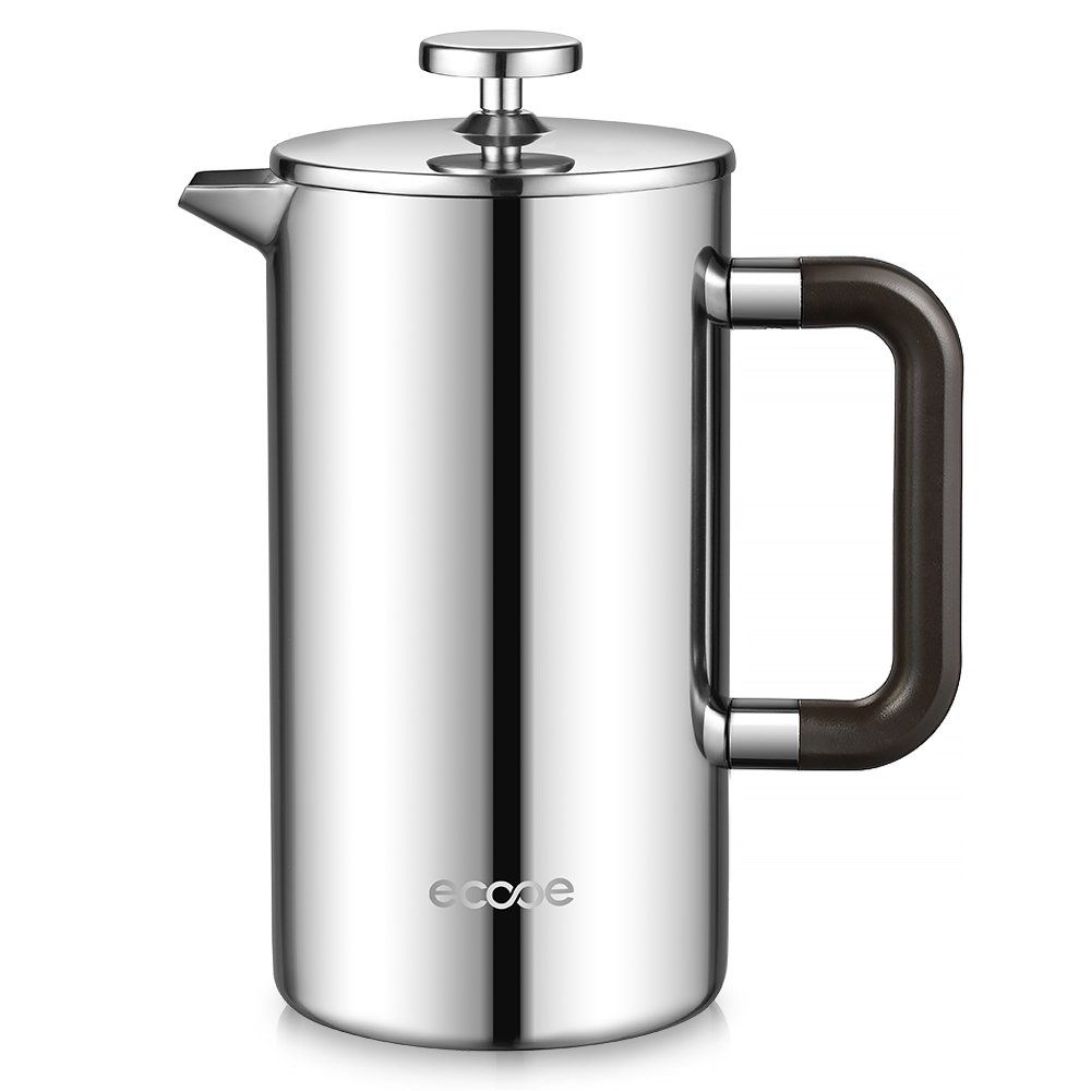 Kaffeebereiter  Amazon.de: Ecooe Doppelwandiger French Press 1L Kaffeebereiter ...