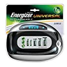 Energizer Universal Charger for AA AAA C D 9V PP3 Rechargeable Batteries