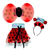 Lady Bug Costume with Tutu - Wings and Head Bopper