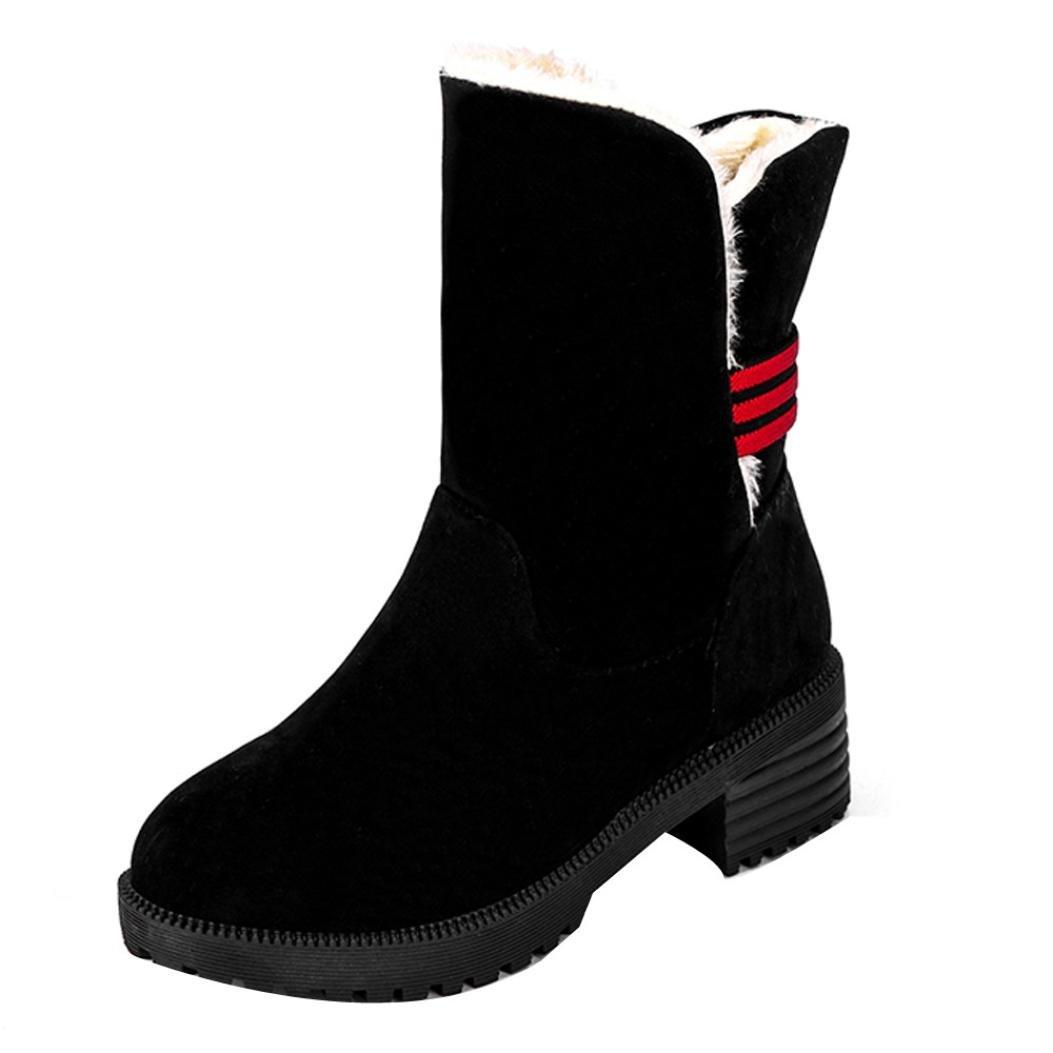 AARDIMI Heiße Frauen Stiefel Schnee Warme Winterstiefel Lace Up Pelz Stiefeletten Damen Winterschuhe Frauen Schuhe