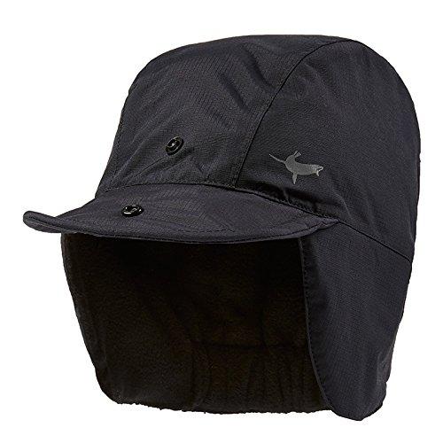 (SEALSKINZ Unisex Waterproof Extreme Cold Weather Hat, Black, Large)