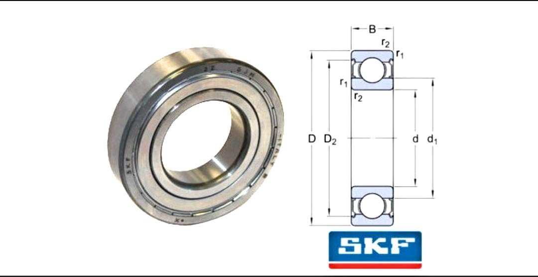 6202ZZ Deep Groove Ball Bearings Z2 15 mm X 35 mm X 11 mm Carbon Steel with Double Shield 10 Pieces