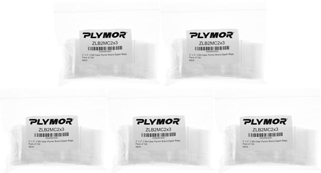 Amazon.com: Plymor - Bolsas de plástico reutilizables con ...