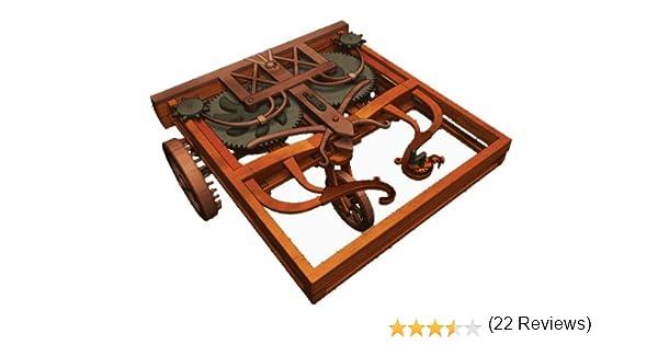 LEONARDO DA VINCI Self-Propelled Cart by Elenco: Amazon.es ...