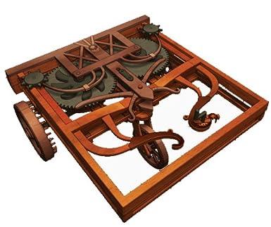 Self Propelled Cart >> Amazon Com Leonardo Da Vinci Self Propelled Cart By Elenco Toys