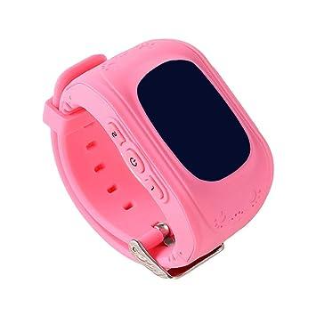 MRLIFY Smart Watch Q50 para niños, GPS, SOS Localizador de ...