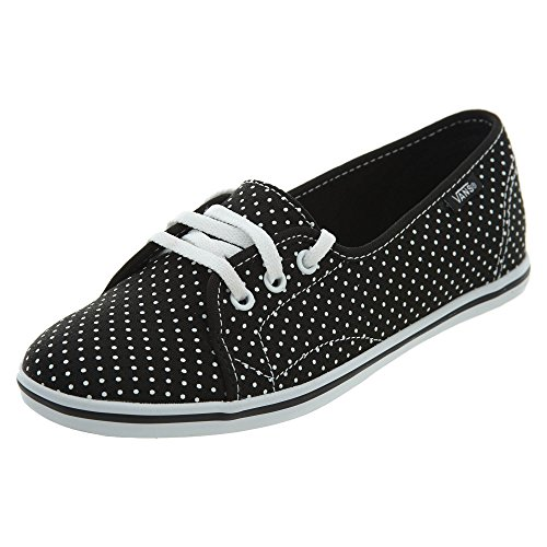Vans Leah Vn-0Scy Shoe, (Polka Dot) Black/True White, 4 ()