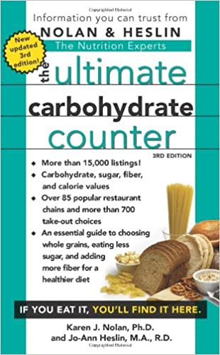 graphic relating to Printable Carb Counter known as The Final Carbohydrate Counter, 3rd Variation: Karen J