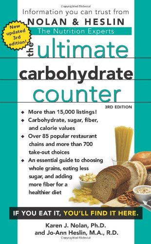 The Ultimate Carbohydrate Counter, Third Edition (Best Carbohydrates For Diabetics)