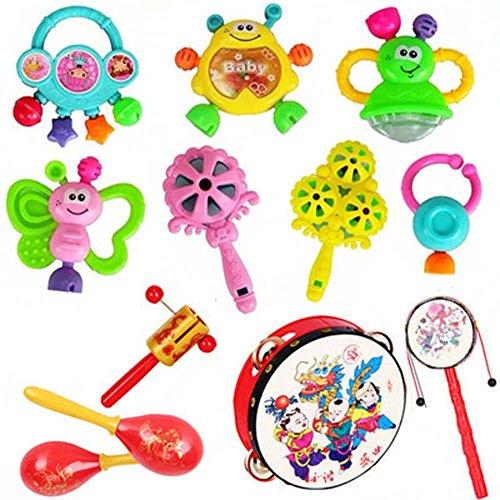 jouets éducatifs 3-6-12 mois hochets pour bébés cadeaux pour bébé de couleur