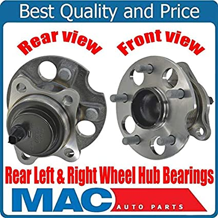 Fis for 11-16 Sienna FWD Models (2) Rear Wheel Bearing & Hub