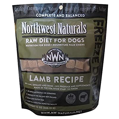 Northwest Naturals Freeze Dried Raw Dog Food Nuggets
