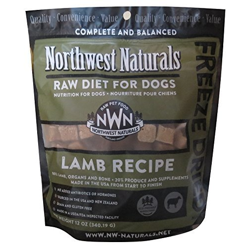 Northwest Naturals Raw Rewards Freeze Dried Nuggets – Dinner for Dogs (Lamb)