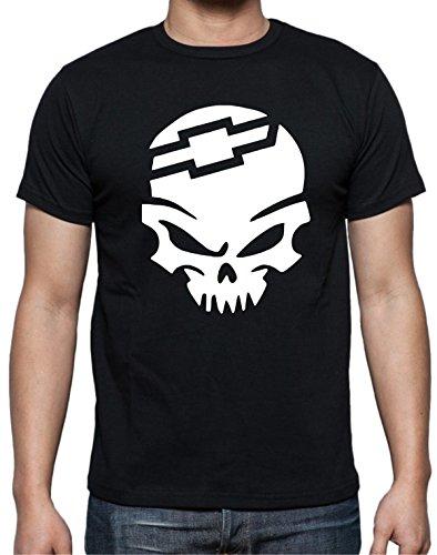 Chevy Bow Tie Skull Shirt (m)