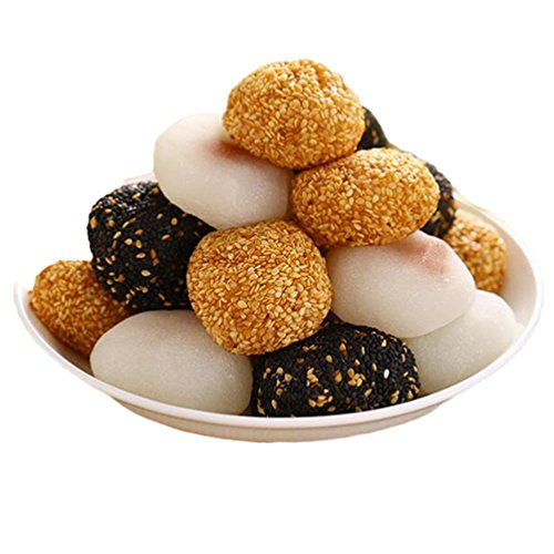 Taiwan specialty: Maidelong multi-flavors mochi rice dumplings glutinous rice cake 干吃汤圆1000g/35.2oz